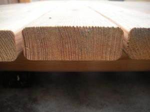 Lärchenholz in Riftqualität